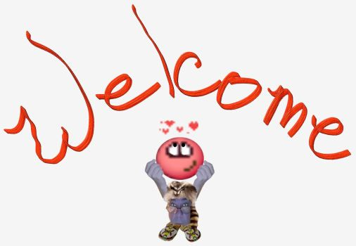 welcome coon hold face hearts red.jpg