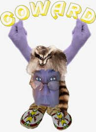 COON WITH HANDS ABOVE HEAD coward 245 small.jpg